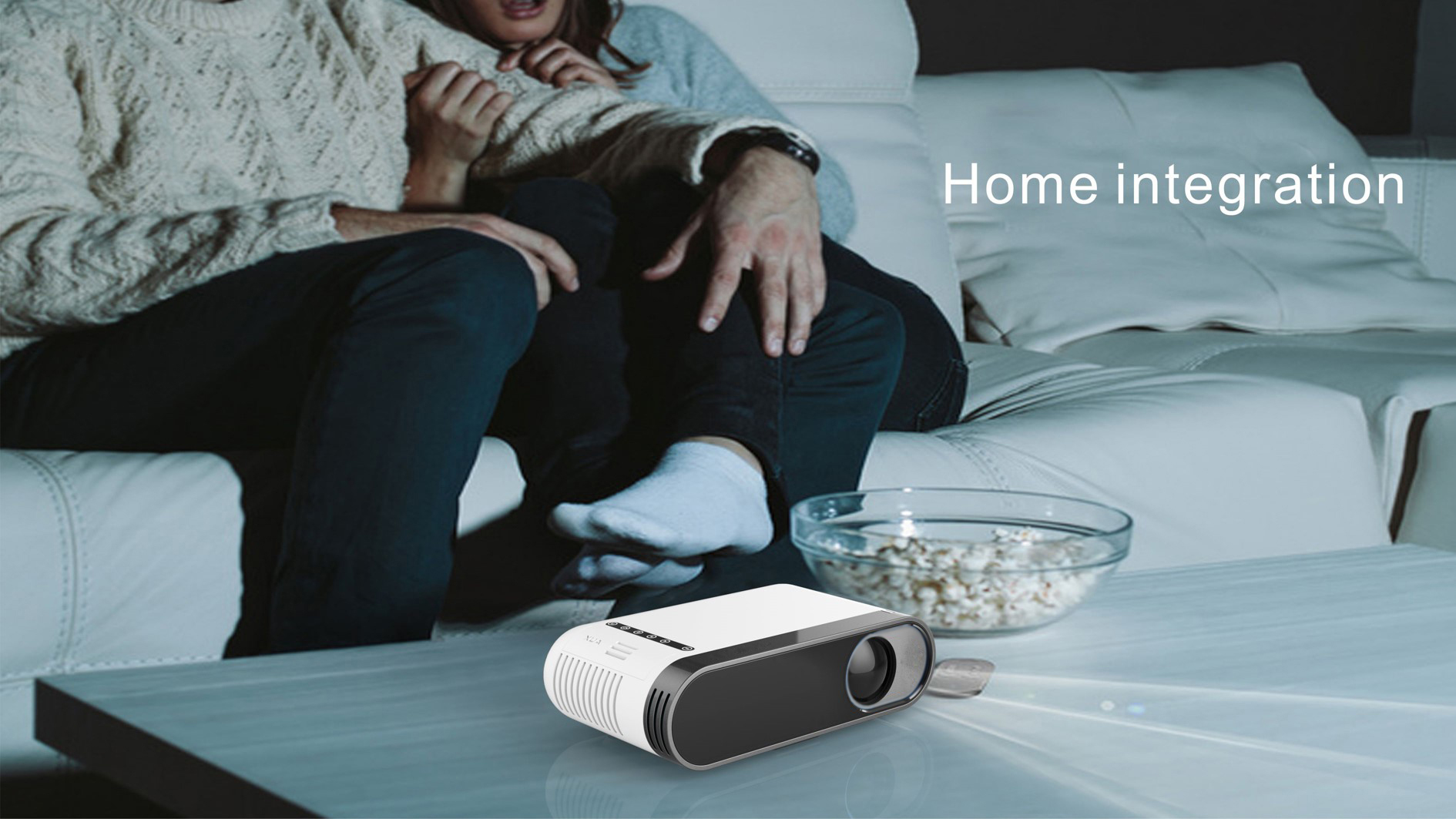 MG20 800 lumens LCD Projector Full HD 1080P Projector 320 x 240 Native Resolution Home Projector