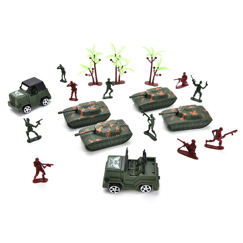 307PCS 4-9CM Military Soldier Army Men Figure Model Suit For Kids Children Gift Toys