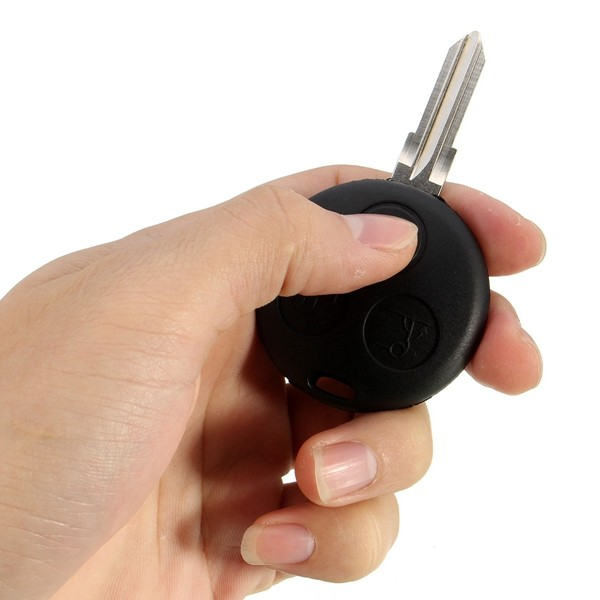 3 Button 433MHZ Remote key Keyless Entry Fob For MERCEDES BENZ MB Smart Fortwo
