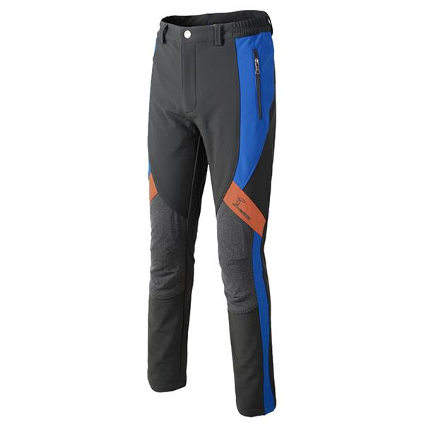 Outdoor Warm Fleece Lined Thermal Hiking Pants Complex Cloth Soft Shell Pants