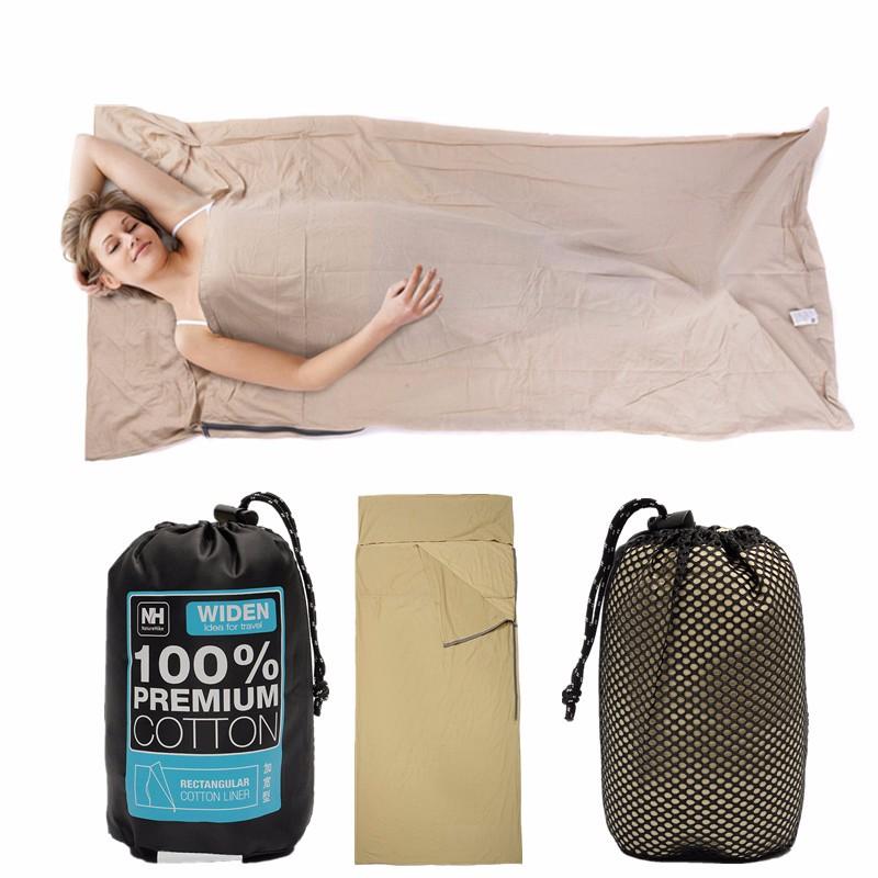 Túi Ngủ Cotton Ngoài Trời Naturehike Nh15S012-D Túi Xách Tay Siêu Nhẹ