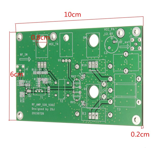 DIY 45W SSB HF Linear Power Amplifier Amateur Radio Transceiver Shortwave Radio Development Board Kit
