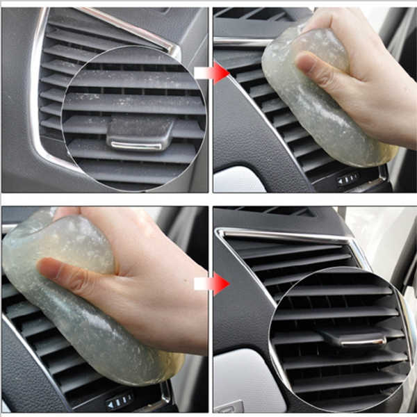 3PCS/5PCS/10PCS Dust Glue Cleaner Tool Clean For Car Air Vent Dashboard Conditioner Storage Box Door Handle Keyboard