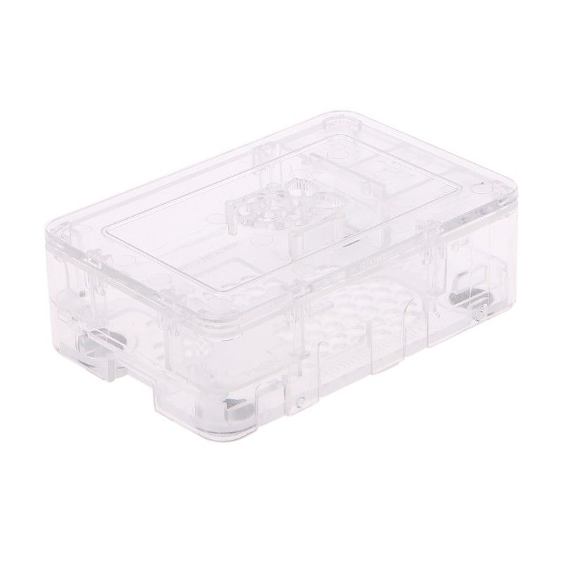 Black/White/Blue/Transparent ABS Updated Premium Enclosure Case For Raspberry Pi 3 2 & B+