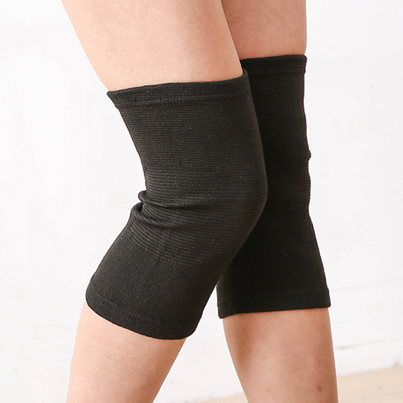KALOAD 1 Pair Polyester Fiber Breathable Bamboo Charcoal Knee Pad Running Fitness Sports Protective Gear