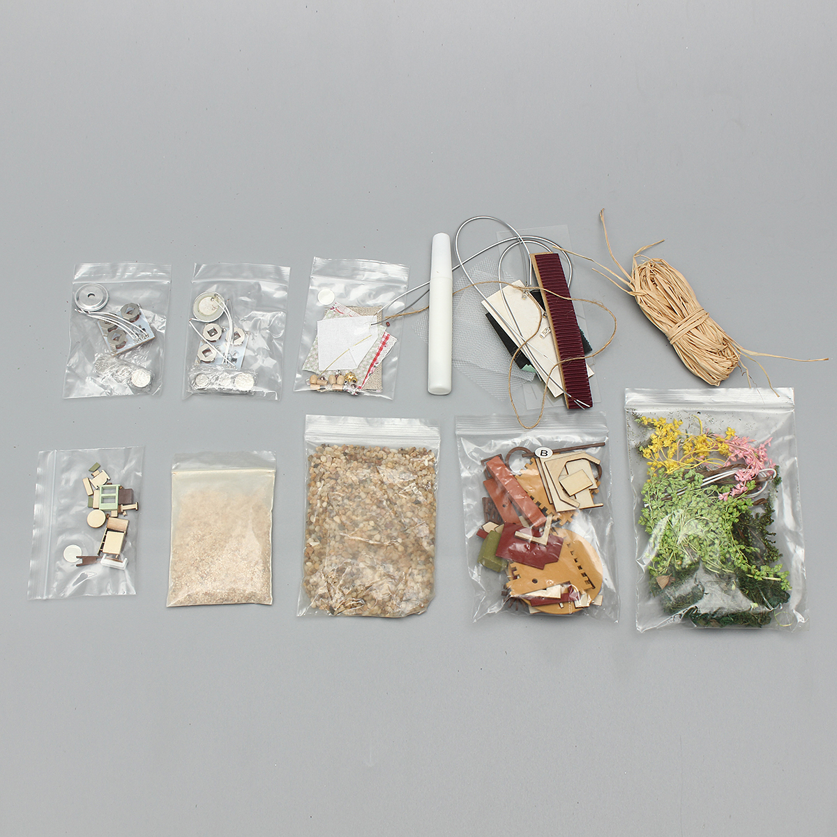CuteRoom Forest Dream Island DIY House B-001 Glass Ball With LED Light Collection Toy Gift Decor