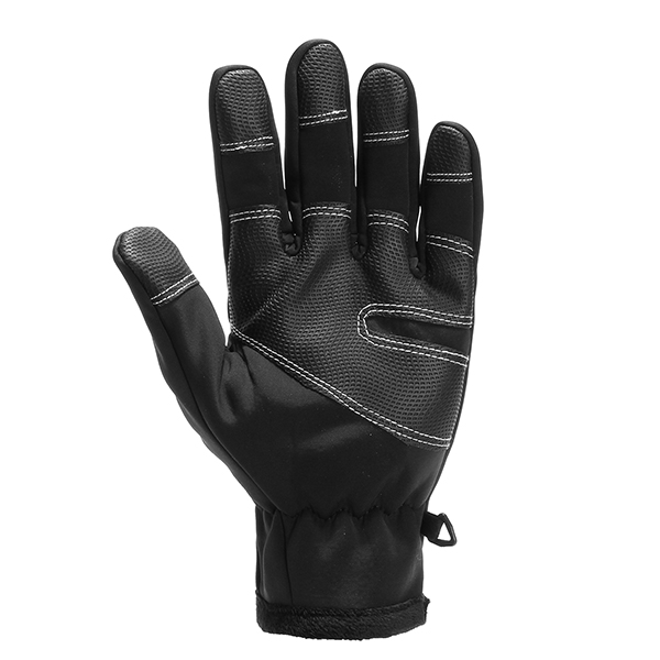 Mens Touch Screen Fleece Cycling Sport Windproof Gloves