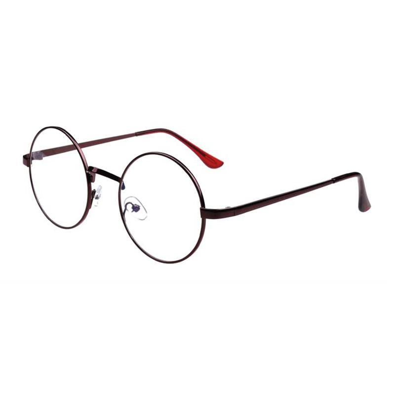 Women Men Retro Ground Optical Glasses