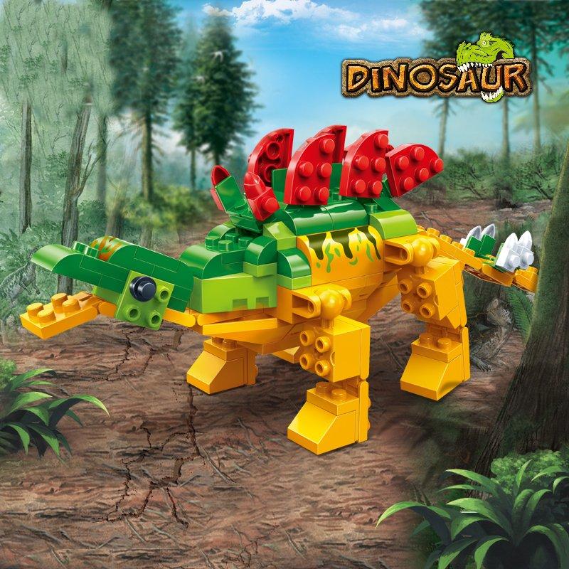 BanBao Stegosaurus Jurassic Dinosaur World Park Animal