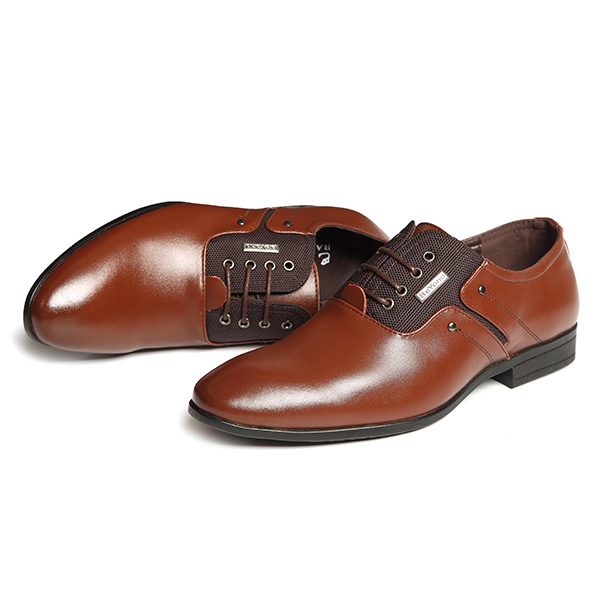 Banggood Shoes Men Genuine Leather Business Formal Shoes