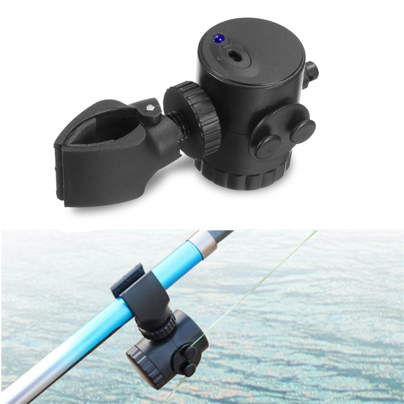 ZANLURE Electronic Fish Bite with LED Indicator Sound Alarm Bell Clip On Fishing Rod