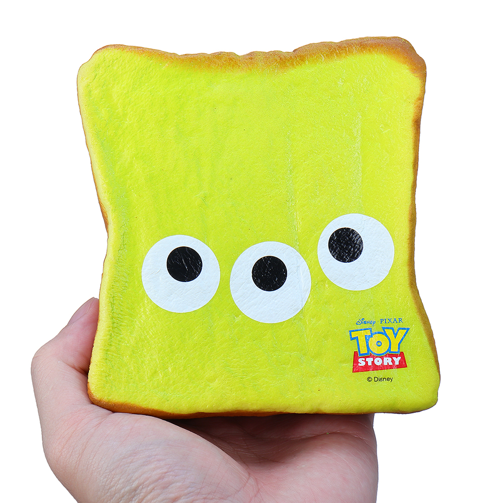 Three Eye Bread Squishy 12CM Soft Slow Rising With Packaging Collection Gift Toy
