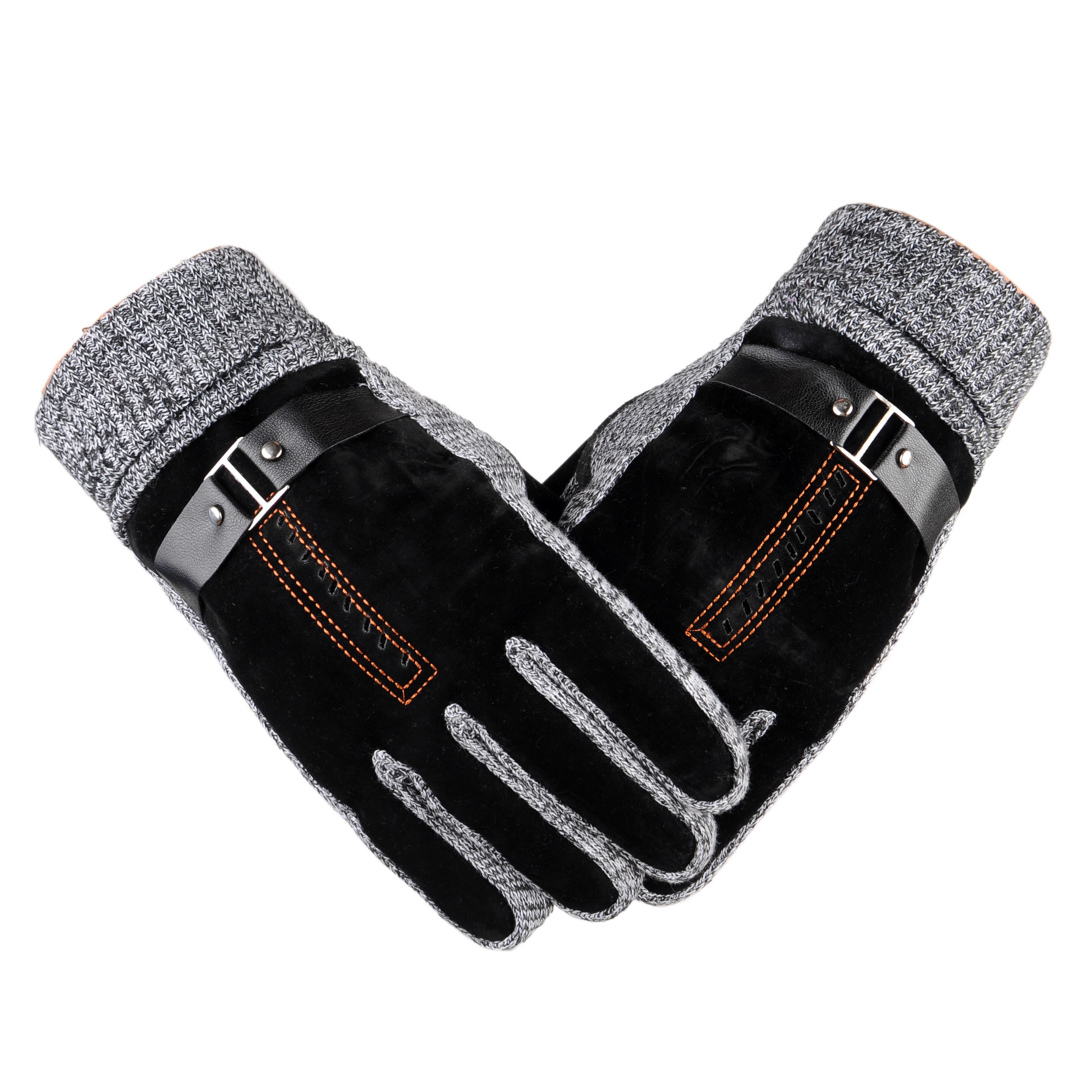 Winter Men's Anti Skid Windproof Thermal Cycling Gloves