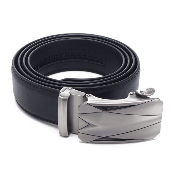 125CM Men Dress Belt Genuine Leather 36mm Wide Business Belt