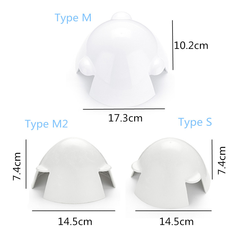 Generator Wind Cap Nylon Fiber Wind Power Turbine 3 Blades Accessories Cap