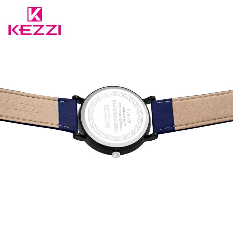 Casual Style Cute Design Children Quartz Watch Leather Strap Student Watch