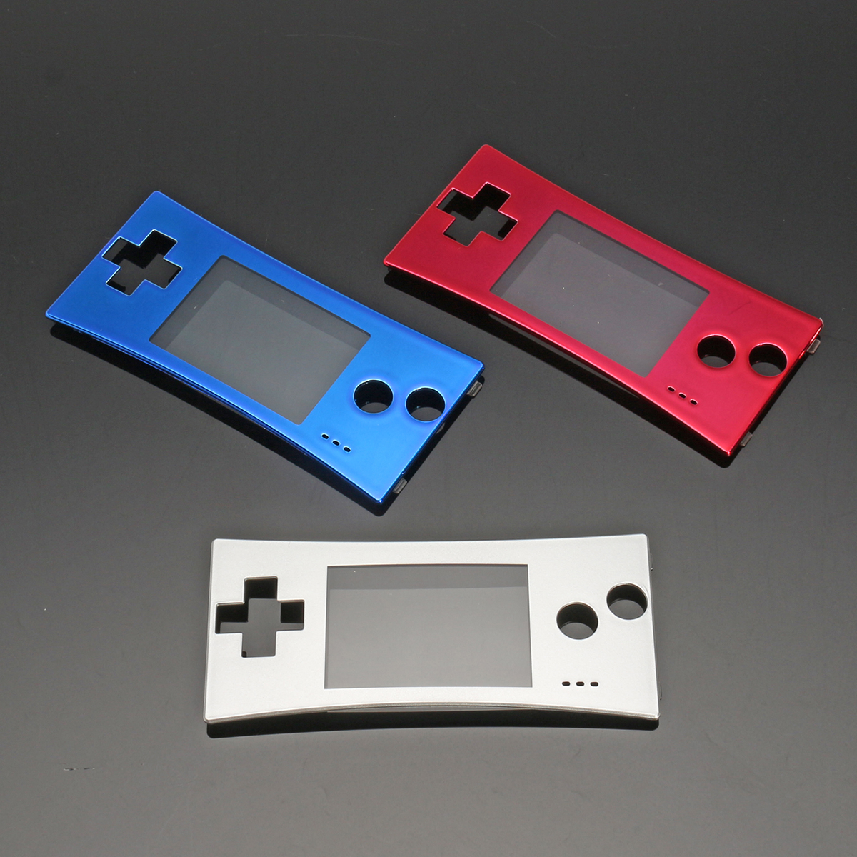 Replacement Front Shell Faceplate Cover Case Part For Nintendo Gameboy Micro GBM