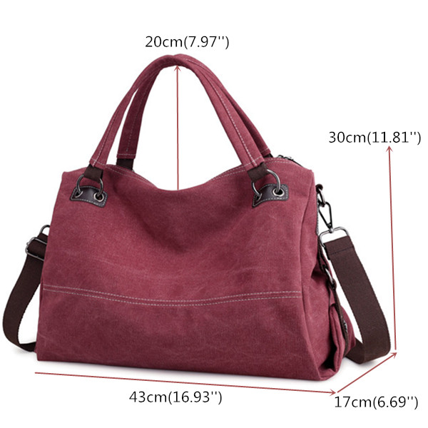 KVKY Women Casual Canvas Tote Handbags