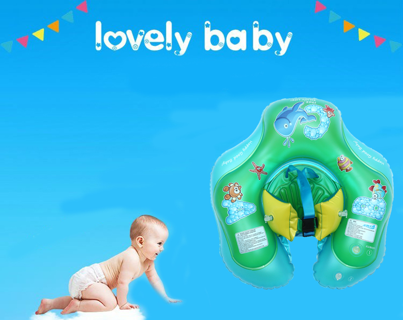 Baby Swimming Air Mattress Float Swimming Ring Summer Water Fun Toy Kids Seat