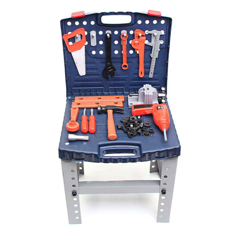 Kids DIY Toy Workbench Kids Workshop Toolbench Collection Gift