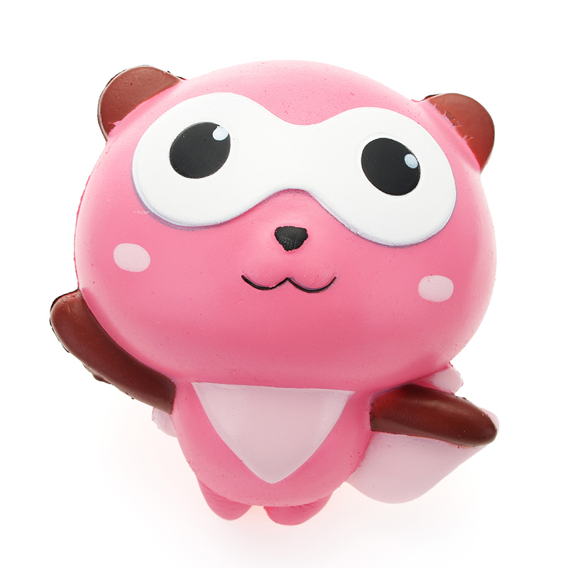 YunXin Squishy Panda Man Robin Team 12cm Slow Rising With Packaging Collection Gift Decor Toy