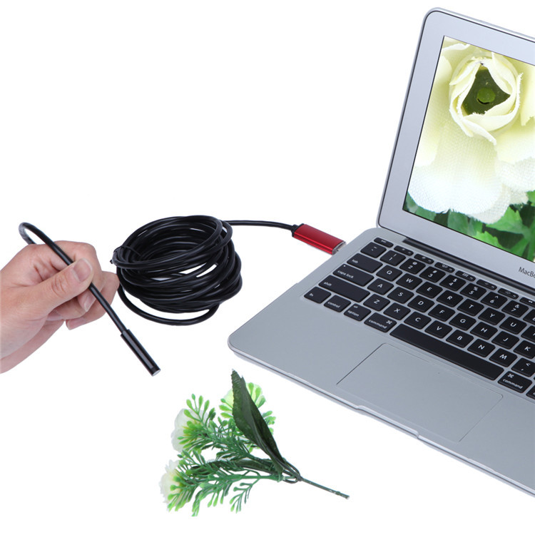 DANIU A99 720P 2MP 6LED 8.0mm Lens Waterproof Android/PC Inspection Borescope Tube Camera
