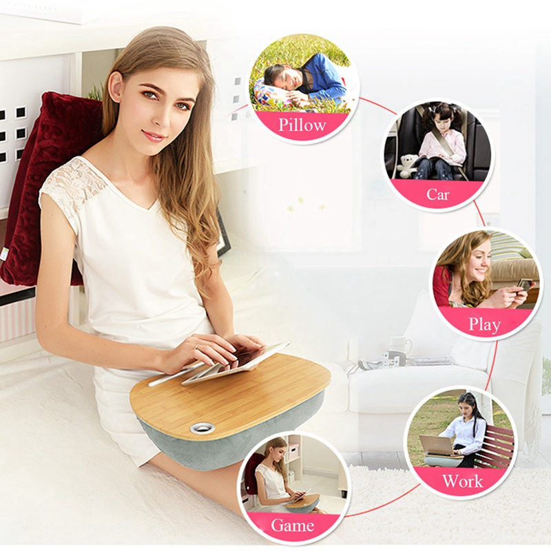 Multifunctional Laptop Desk Pillow For Computer Tablet Phone Portable Office Outdoor Nap Pillow