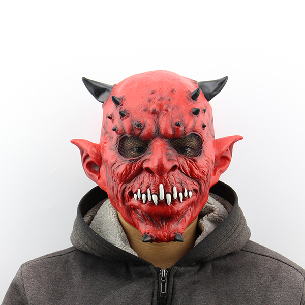 Halloween Latex Scary Head Face Mask 3D Full Face Horror Adult Halloween Gift
