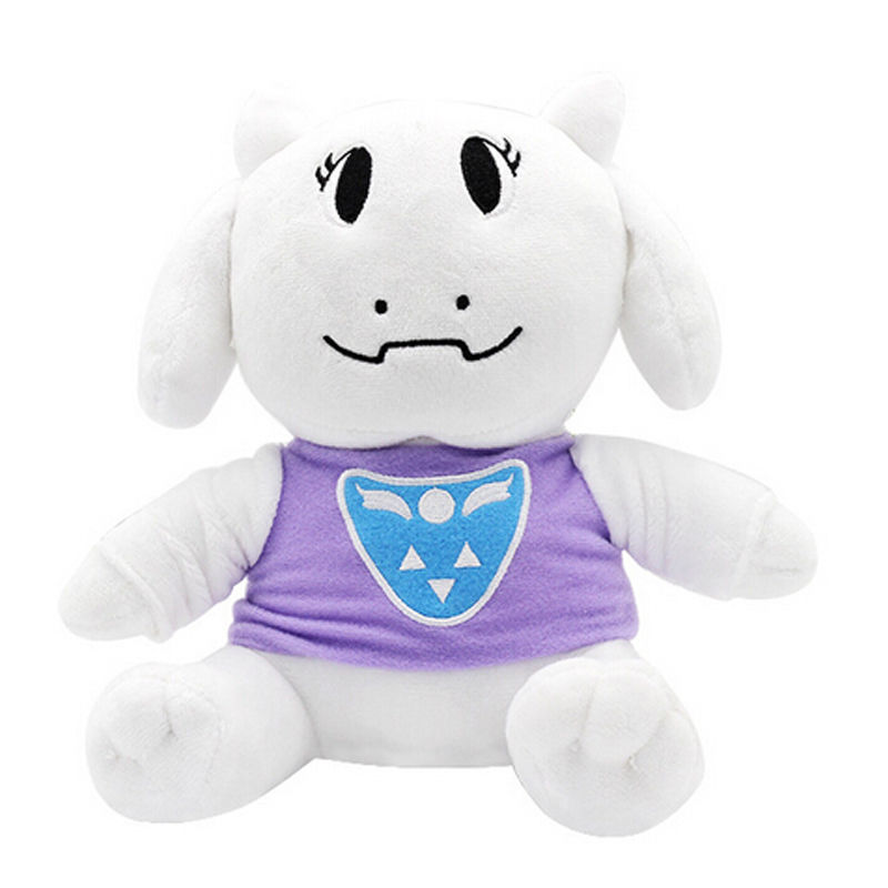 Undertale Plush Toy Stuffed Doll Sans Papyrus Temmie Toriel Asriel Kids Gift