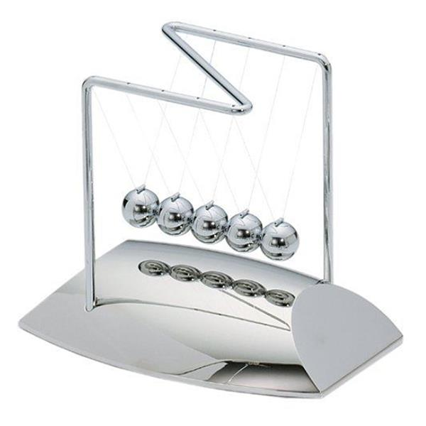 Newtons Cradle Balance Balls Physics Pendulum Science Toy Model