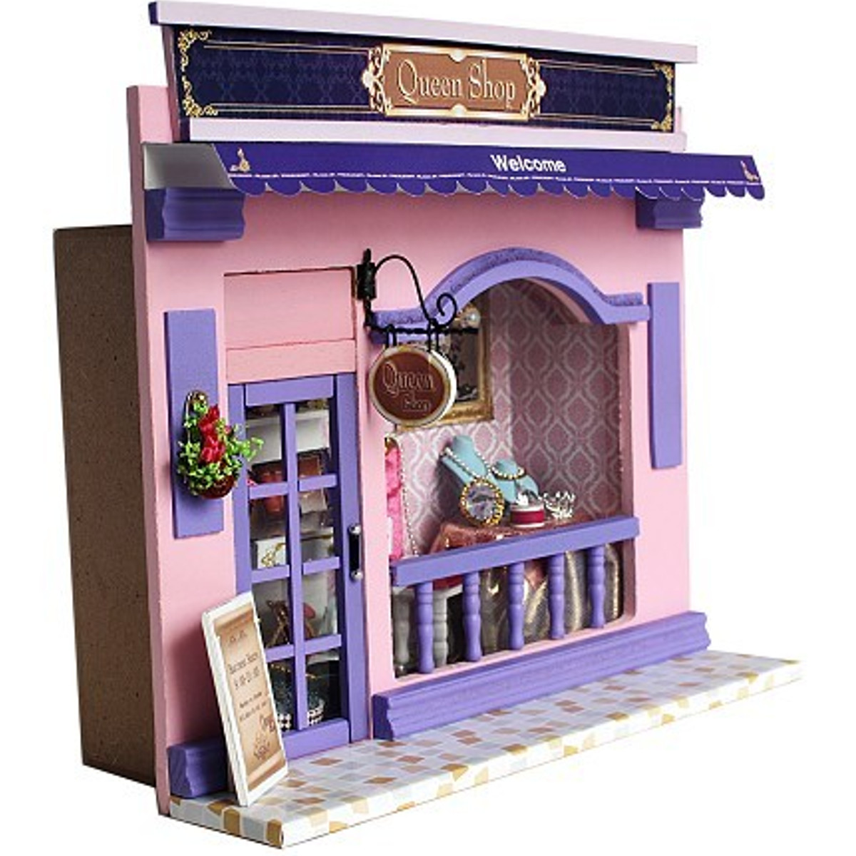 Furniture Dollhouse Miniature DIY Kit Kid House Play DIY Doll House