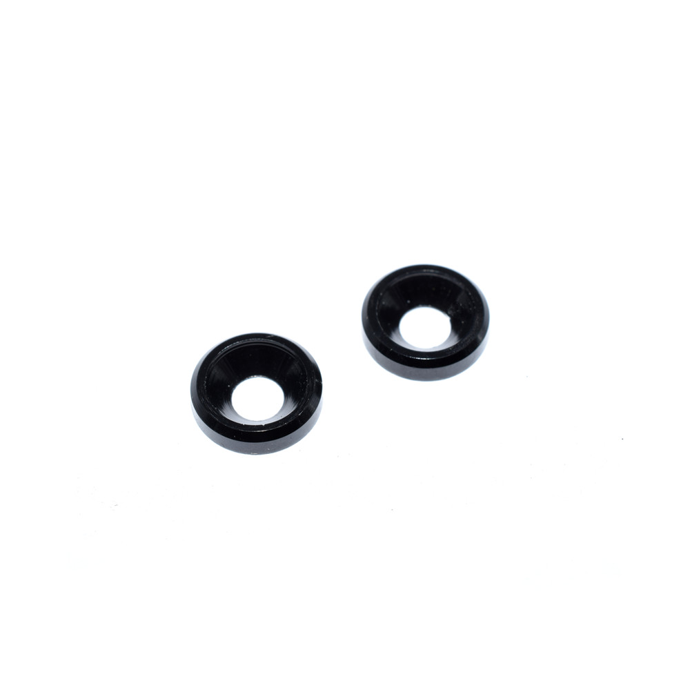 10PCS M3 Aluminum Alloy Countersunk Screw Gasket Washer for RC FPV Racing Drone - Photo: 3