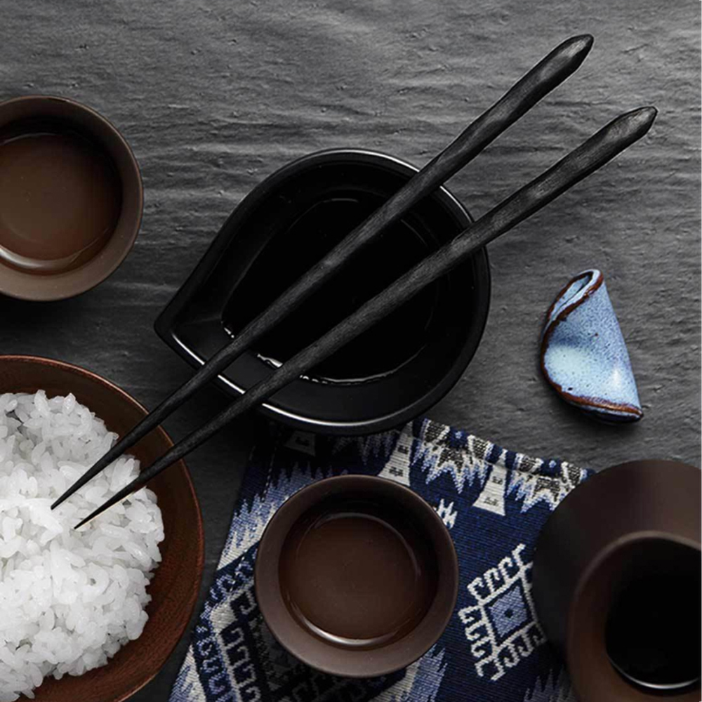 XIAOMI YIWUYISHI 6Pcs PPS Glass Fiber Material High Temperature Resistance Chinese Chopsticks Tableware