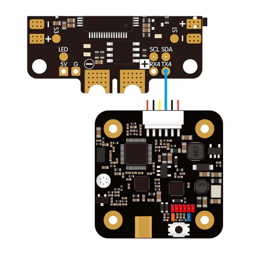 SpeedyBee TX500 5.8G 48CH 25/200/500mW Switchable Video Transmitter Built-in MIC for FPV RC Airplane