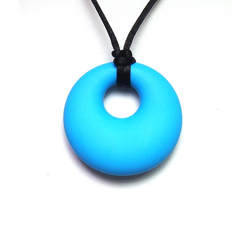 Vvcare BC-TN08 Silicone Teether Necklace Safe BPA Free Teething Pendant Stylish Jewelry
