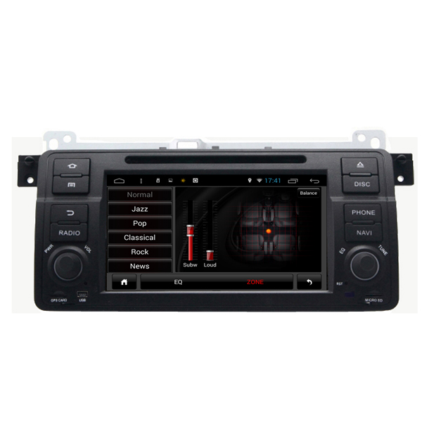 SA-710 Car DVD MP3 MP4 Player FM AUX in Android Capacit