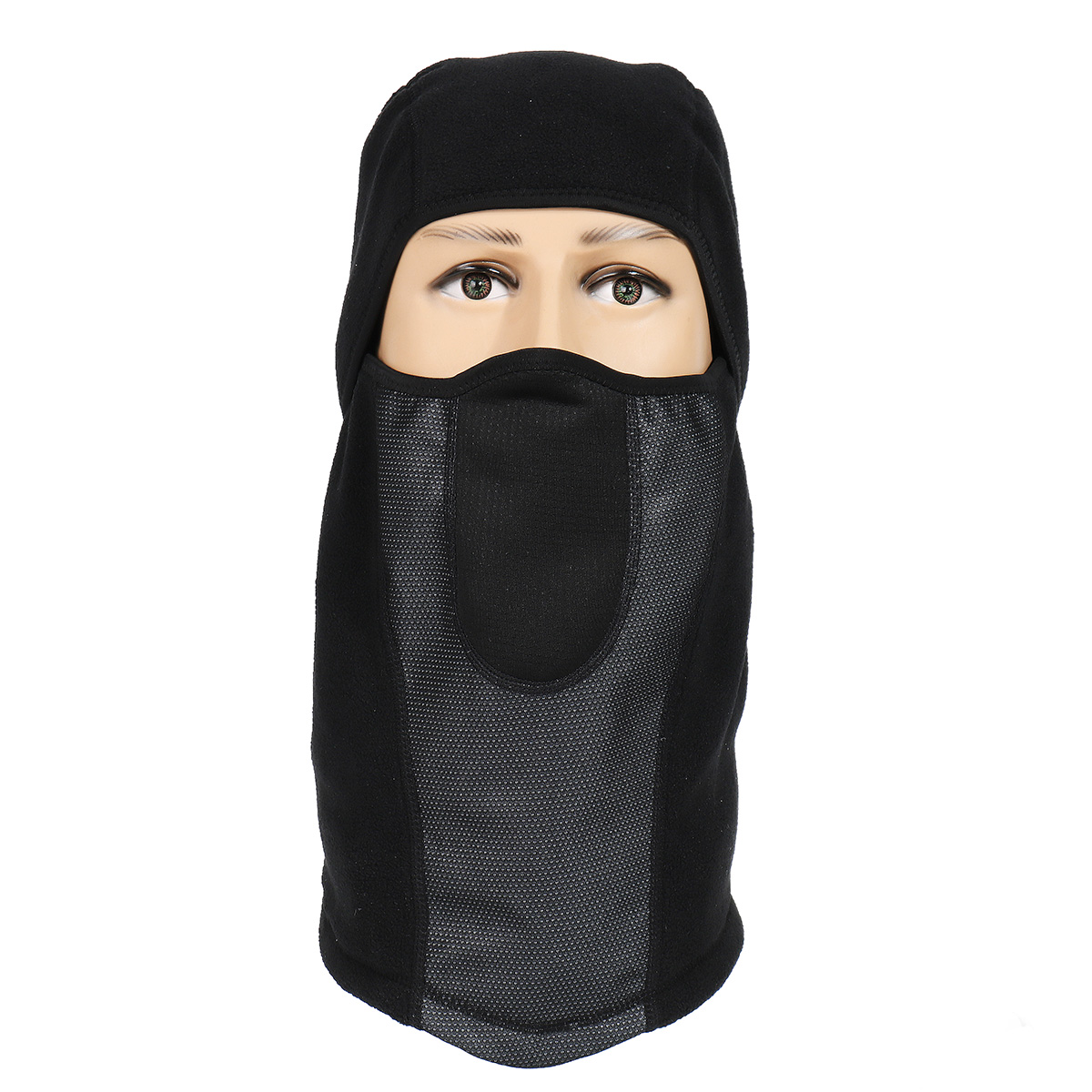 BIKIGHT Cycling Face Mask UV Protection Balaclava Moto Neck Full Face Mask Dustproof Airsoft Paintba
