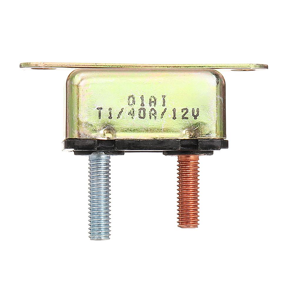 Auto Reset Circuit Breaker 40A AMP Fuse Dual Battery Ca