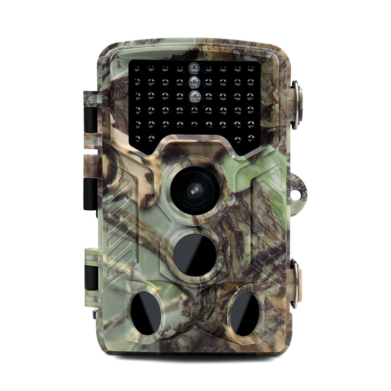 SHOOT XT-454 Hunting Camera 12MP 1080P Full HD Trail Camera Infrared Wildlife Camera with 0.6S Trigger Time 80FT Detection Range IP56 47 Pcs IR LEDs for Wildlife Monitoring