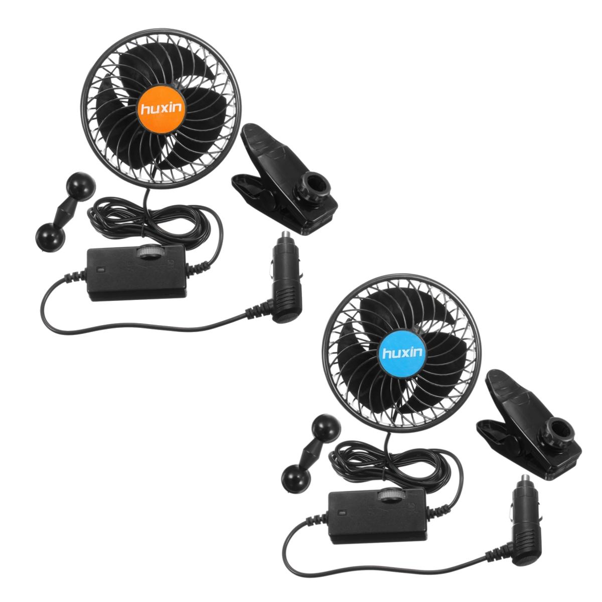 Original 12V/24V Mini Electric Air Cooling Fan Adjustable