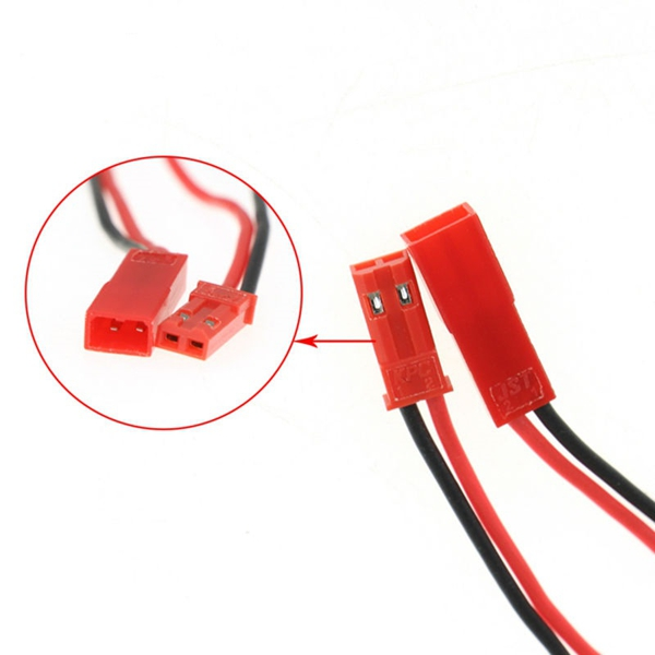 DIY JST Male Female Connector-plug WIth Cables for RC LIPO Battery FPV Drone Quadcopter