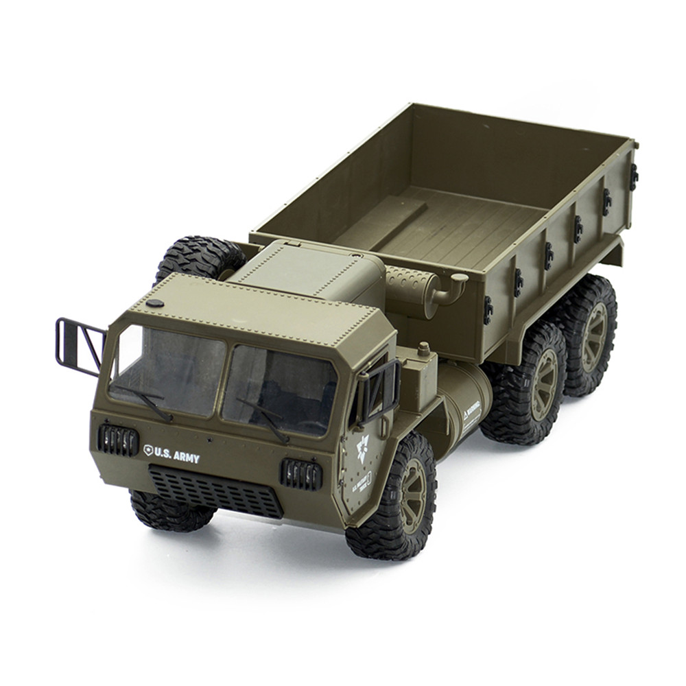 Fayee FY004A 1/16 2.4G 6WD Rc Car Proportional Control US Army Military Truck RTR Model Toys