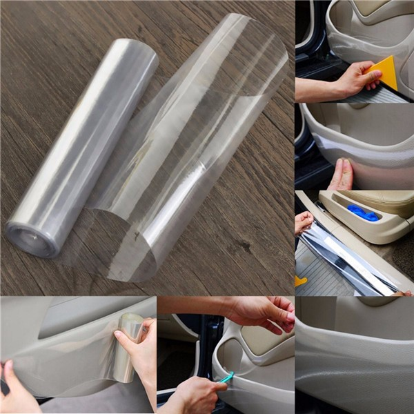 Transparent Car Protective Film Vinyl Wraps Universal Clear 3M*15CM