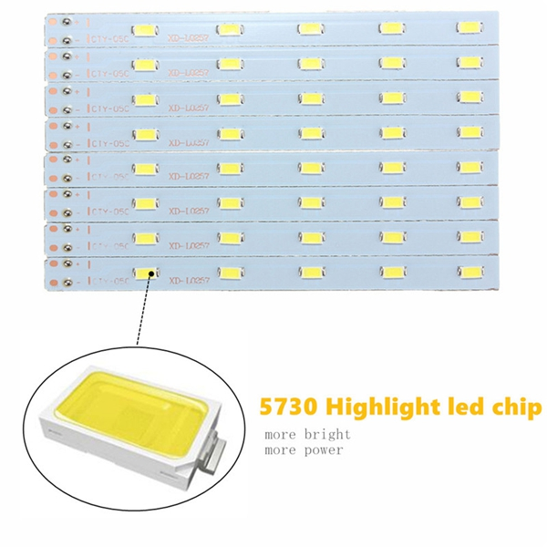 10W 5730 SMD Kitchen Bedroom Light LED Ceiling Lamp Bulb Fixture 220V