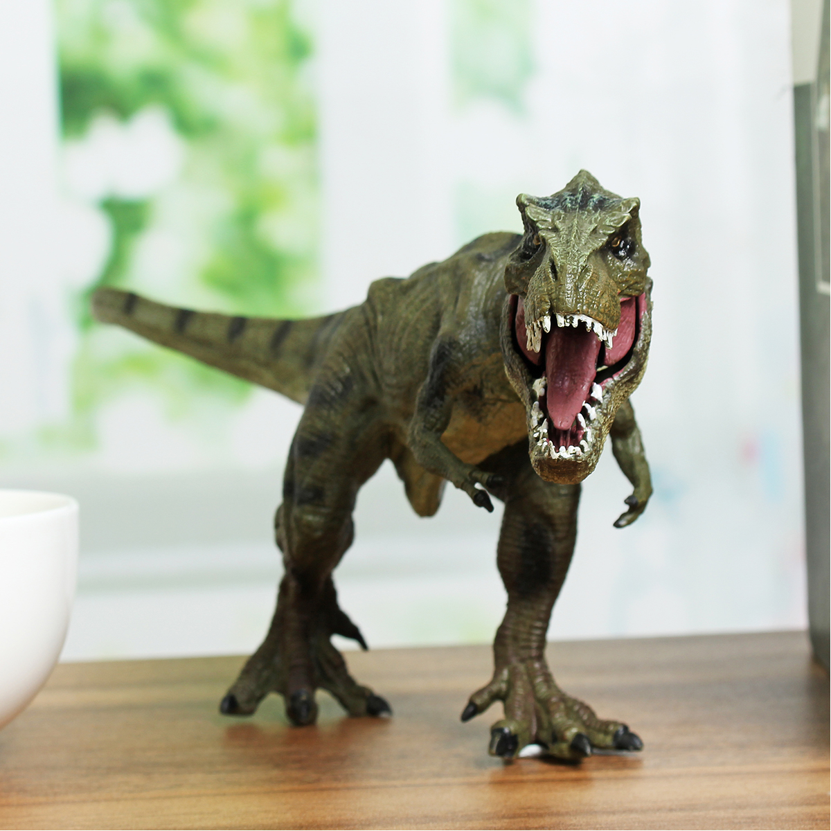 12 Inch Tyrannosaurus Rex Dinosaur Animal Educational Toys Model Kids Gift T-Rex Home Decor