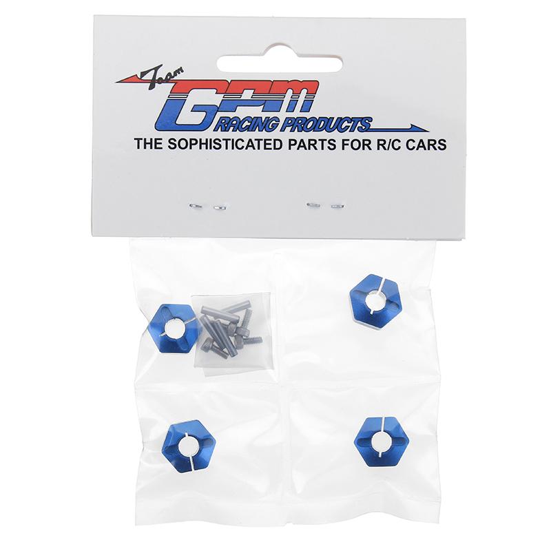 Alloy Hex Adapter 12mmx9mm 4Pcs Ven019 For HPI-1/10 Venture Toyota FJ Cruiser Bulk Parts