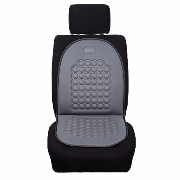 Car Seat Cushion Therapy Massage Cover Padded Bubble Foam Grey