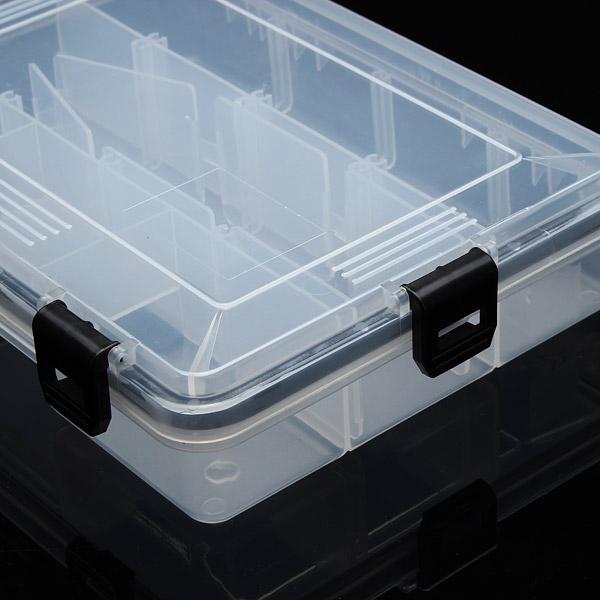 Proberos Multifunctional Fishing Lure Box Fishing Lure Plastic Storage Box