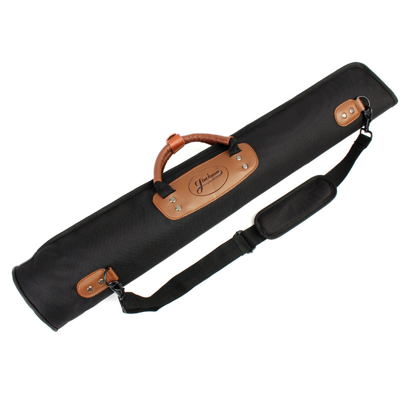 Oxford Cloth Clarinet Oboe Straight Soprano Saxophone Sax Gig Bag Case Black