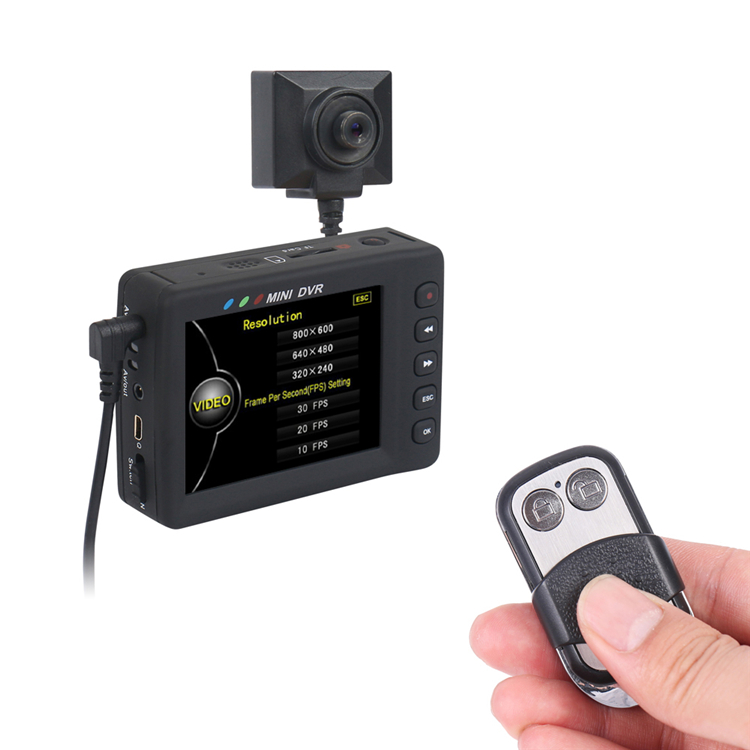 Mini DV Digital Video Surveillance Low-lux Button Camer